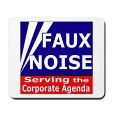 Fox News - Faux Noise Mousepad