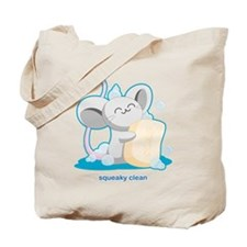 Squeaky Clean Tote Bag