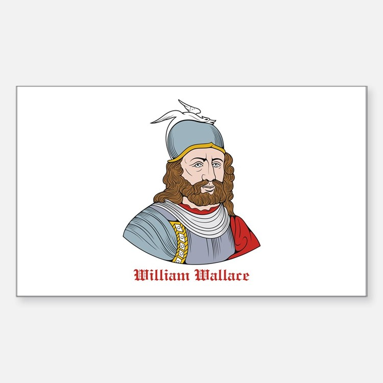 William Wallace Rectangle Decal