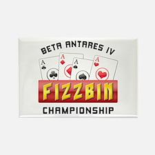 Fizzbin Championship Rectangle Magnet