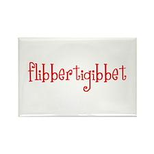 flibberti Rectangle Magnet
