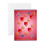 Love Mom Greeting Cards (Pk of 20)
