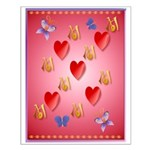 Love Mom Small Poster