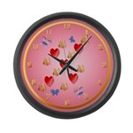 Love Mom Large Wall Clock