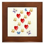 Love Mom Framed Tile