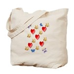 Love Mom Tote Bag
