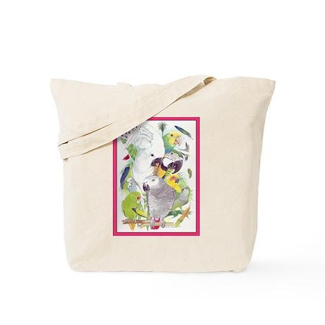 Parrot Fun Tote Bag