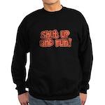 Shut Up and Run Sweatshirt (dark)