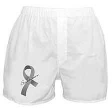 Brain Tumor Survivor Boxer Shorts