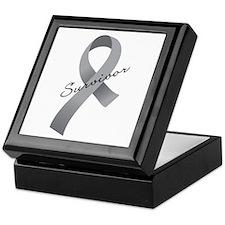 Brain Tumor Survivor Keepsake Box