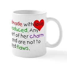 Handmade With Love girl Mug