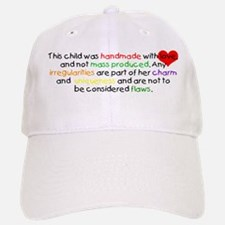 Handmade With Love girl Baseball Baseball Cap