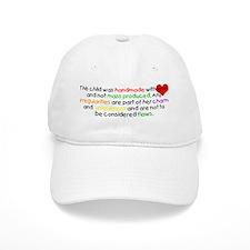 Handmade With Love girl Baseball Cap