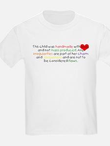 Handmade With Love girl T-Shirt