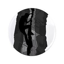 "Rock Climbing Silhouette 3.5"" Button"