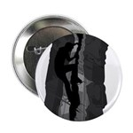 "Rock Climbing Silhouette 2.25"" Button"