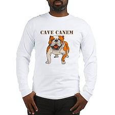 Cave Canem (Bulldog) Long Sleeve T-Shirt