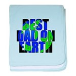 Best Dad on Earth baby blanket