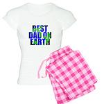 Best Dad on Earth Women's Light Pajamas