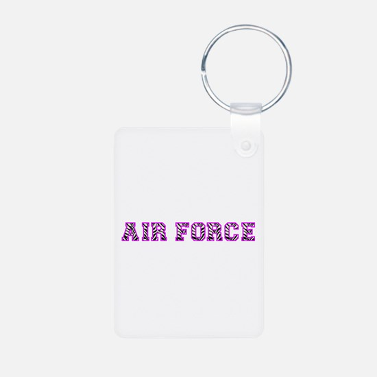 Air Force Zebra Pink Keychains