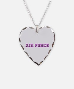 Air Force Zebra Pink Necklace