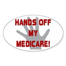 Hands off my Medicare Decal