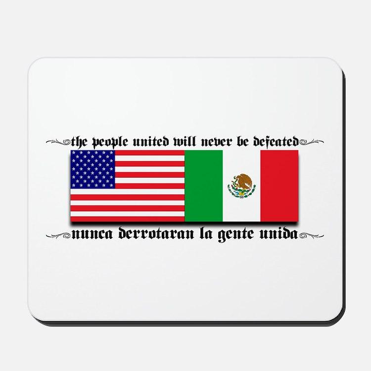 USA & MEXICO UNITE Mousepad