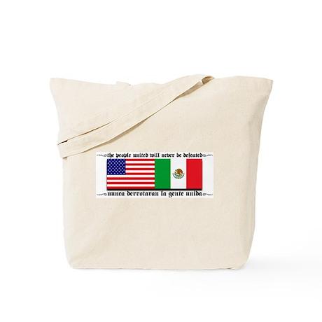 USA & MEXICO UNITE Tote Bag
