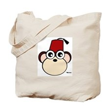 Fez Monkey Tote Bag