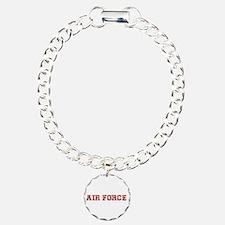 Air Force Zebra Red Bracelet