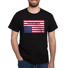 Extreme Distress Black T-Shirt