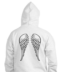 Angel wings Jumper Hoody