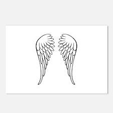 Angel wings Postcards (Package of 8)