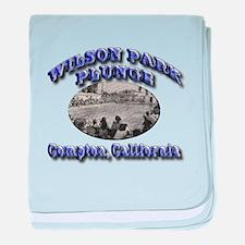 Wilson Park Plunge baby blanket