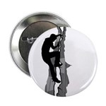 "Rock Climbing Silhouette 2.25"" Button (100 Pk"