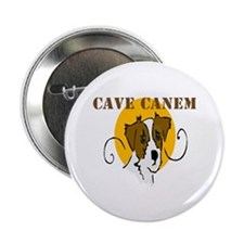 "Cave Canem (Jack Russell) 2.25"" Button (10 pack)"