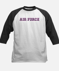 Air Force Zebra Dark Purple Tee