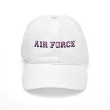 Air Force Zebra Dark Purple Baseball Cap