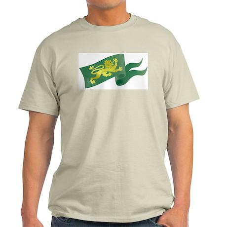 Lion Flag Ash Grey T-Shirt