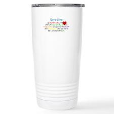 Handmade With Love Boys Customised Travel Mug