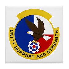 2851st Security Police Tile Coaster