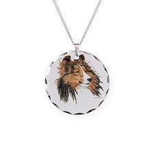 Sable Shetland Sheepdog Sheltie Necklace