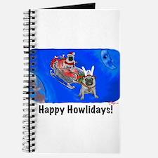 Howliday Pugs Journal