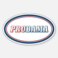 Probama Sticker (Oval)