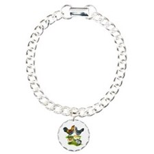 Ameraucana Chicken Family Bracelet
