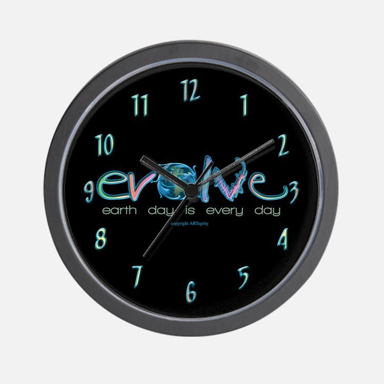 Evolve Every Day Wall Clock