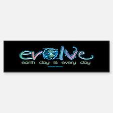 Evolve Every Day Bumper Bumper Bumper Sticker