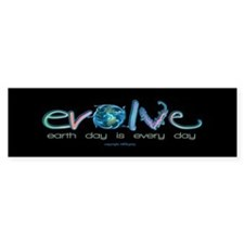 Evolve Every Day Bumper Bumper Sticker