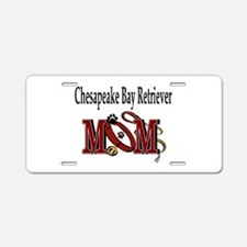 Chesapeake Bay Retriever Aluminum License Plate
