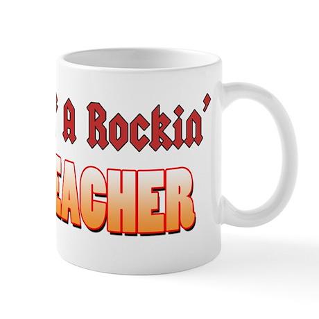Property Of A Rockin Drum Teacher Mug